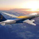 Sky West est compagnie de lancement de l'E-175-E2 qui enterra en service en 2020
