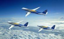 Embraer affiche pour sa famille E-Jets E2 les mêmes ambitions qu'Airbus et Boeing pour leur A320neo et 737MAX
