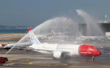 L'arrivée du premier 787 à Nice