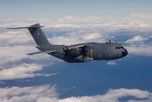 Premier vol de l'A400M MSN7 destiné à l'Armée de l'air française (6 mars 2013)