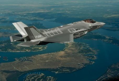 Le premier vol du premier F-35 hollandais a eu lieu le 6 août 2012