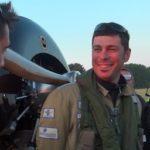 Baptiste Salis, le pilote du MSG2013, juste avant le départ de Fréjus pour Bizerte
