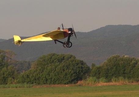 La réplique du MS type G a décollé de Fréjus à 8h21