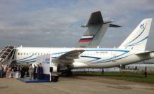 2. Gazpromavia a commandé 10 Superjet SSJ100 LR