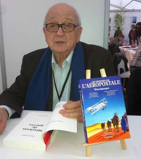 Germain Chambost, premier lauréat, du nouveau prix littéraire du Festival des Etoiles et des Ailes