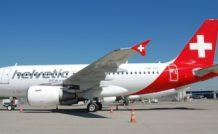 Airbus A319 d'Helvetic Airways