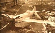 Le prototype du Dewoitine D551, début 1940