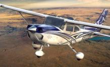 Le Turbo Skylane JT-A est la version luxe du Cessna 182, qui joue dans la même cour que le SR22 de Cirrus : intérieur cuir, Garmin G1000, l'avion est proposé au prix de 530 000 USD hors taxes.