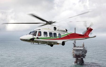 En version Offshore, l'AW189 a une capacité d'emport de 16 passagers