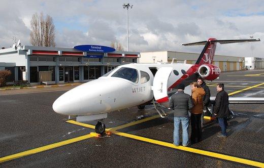 2. Wijet propose l'heure de vol à 2.400 € TTC.