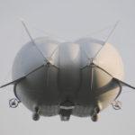 Le concept Airlander 50 repose en grande partie sur un compromis entre l'usage d'un gonflage à l'hélium et une portance aérodynamique.