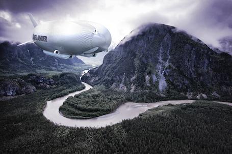 Le dirigeable Airlander 50 a une charge utile de 45 tonnes