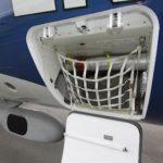 Placée en soute, l'installation de refroidissement des équipements électroniques du Fokker 100 de DGA EV
