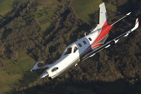 Le TBM900 aux lignes aérodynamiques optimisées