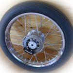 Elégance et haute-technologie pour cette roue vintage signée Beringer