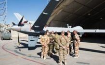 Les pilotes militaires français en formation sur le drone Reaper aux USA