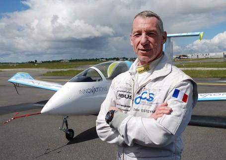 Didier Esteyne, pilote d'essais et co-concepteur de l'E-Plane
