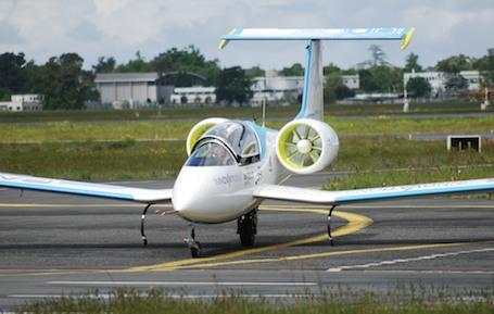 L'E-Fan a effectué son premier vol le 11 mars 2014