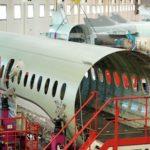 La section centrale du premier fuselage de Falcon 5X à Biarritz