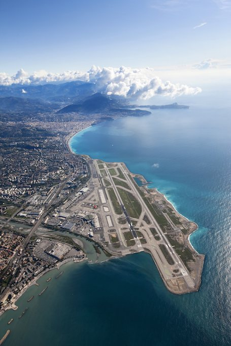 L'aéroport Nice-Côte d'Azur