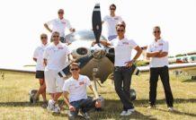 1. Air Alsace, l'équipage vainqueur de l'édition 2014 du Défi 100-24