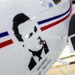 Le portrait d'André Moynet, député, ministre, pilote du Normandie Niemen et pilote d'essai de la Caravelle sur le PA28 du CAP