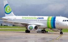 Un des quatre A320 d'Air France aux couleurs de Transavia