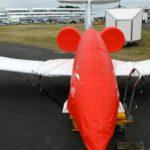 L'Airbus E-Fan a revêtu son imperméable...