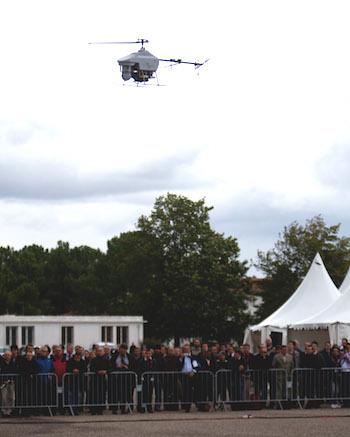 2. Sur les 600 opérateurs français de drone, 20 à 25% seulement ont une activité économique