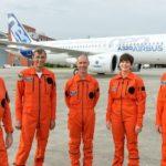 L'équipe du premier vol de l'Airbus A320neo