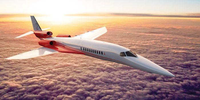 1. L'Aerion AS2, le premier avion d'affaires supersonique dont le premier vol est annoncé pour 2019