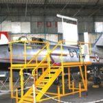La restauration du Mystère IVA N° 245 ( 8-NN )est en cours de finition ( marquages ).