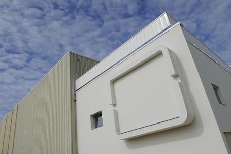 Le Banc d'Essai Réacteur (BER) Phénix d'AFI KLM E&M à Roissy-CDG sur lequel vont être réalisés les essais de développement du réacteur Leap-1A de CFM International