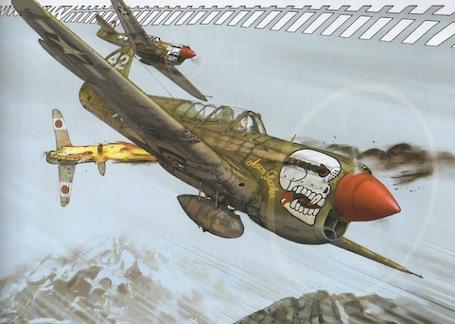 P 40 N.  Warhawk 1/32 Eduard   - Page 2 Jpg_angel_wings_p40