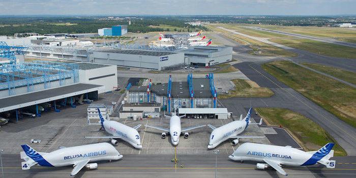 2. Airbus exploite une flotte de cinq Beluga