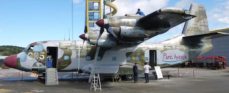 Le Breguet 941 a été récupéré par un parc d'attraction à thème aéronautique situé sur l'aérodrome d'Aubenas (Ardèche).