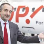 1. A travers Hop! France, Lionel Guérin, PDG de Hop!, met en oeuvre les recommandations qu'il a faites dans son rapport sur l'activité court et moyen courrier du groupe Air France (été 2014)