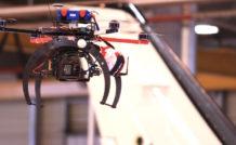 1. Le drone utilisé pour les prises de vue du TBM900 en atelier et sur le tarmac