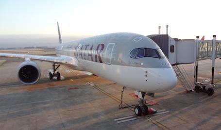 Le premier A350-900 prêt pour sa livraison officielle à Qatar Airways
