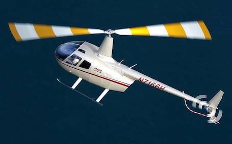 L'hélicoptère Robinson R66 est équipé d'une turbine Rolls-Royce RR300 développant 300 cv