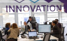 Thales teste le nouvel espace de travail I-Swarm (Innovation Software Welfare Agility Responsibility Modularity)