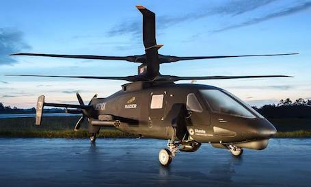 Le S-97 Raider que Sikorsky espère proposer à l'US Army