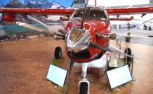 La turbine P&W PT6A-34 de 750 ch associée à une hélice quadripale Hartzell confère au Kodiak des performances en décollage et montée intéressantes pour les centres de parachutisme