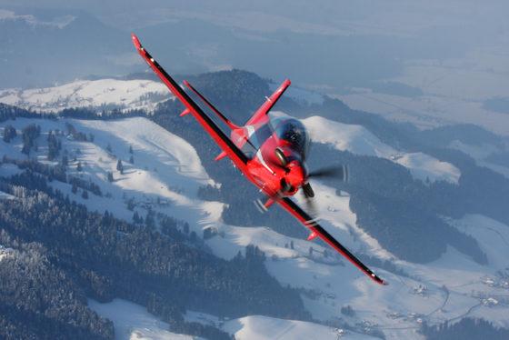 L'avion d'entrainement militaire PC-21 reste une valeur sûre du catalogue Pilatus