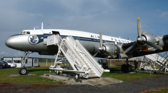Le Super Constellation F-BGNJ de Nantes