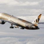 Etihad Airways a mis en service son premier Boeing 787-9 en décembre 2014