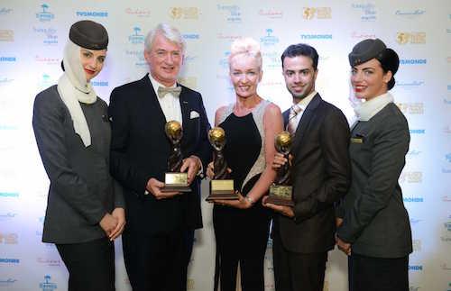 En 2014, Etihad Airways a encore engrangé des récompenses pour ses performances et la qualité de son service