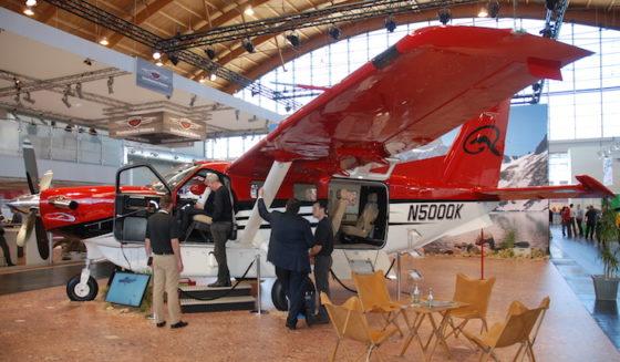 Le turbopropulseur américain Kodiak de Quest sera l'une des vedettes du salon France Air Expo de Lyon