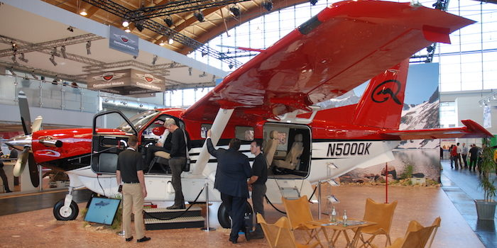 Le turbopropulseur américain Kodiak de Quest sera l'une des vedettes du salon France Air Expo de Lyon