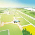 Cette vue d'artiste de la future usine Voltair de Pau proposée par Airbus Group donne plus l'impression d'un gadget que d'un véritable projet industriel.